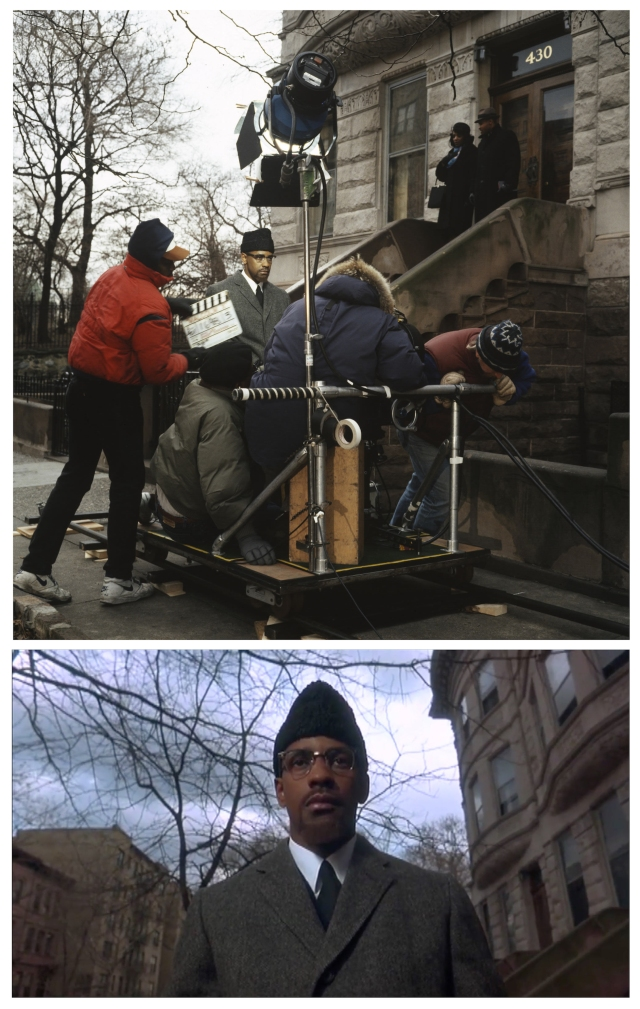 Malcom X Spike Lee double dolly shot