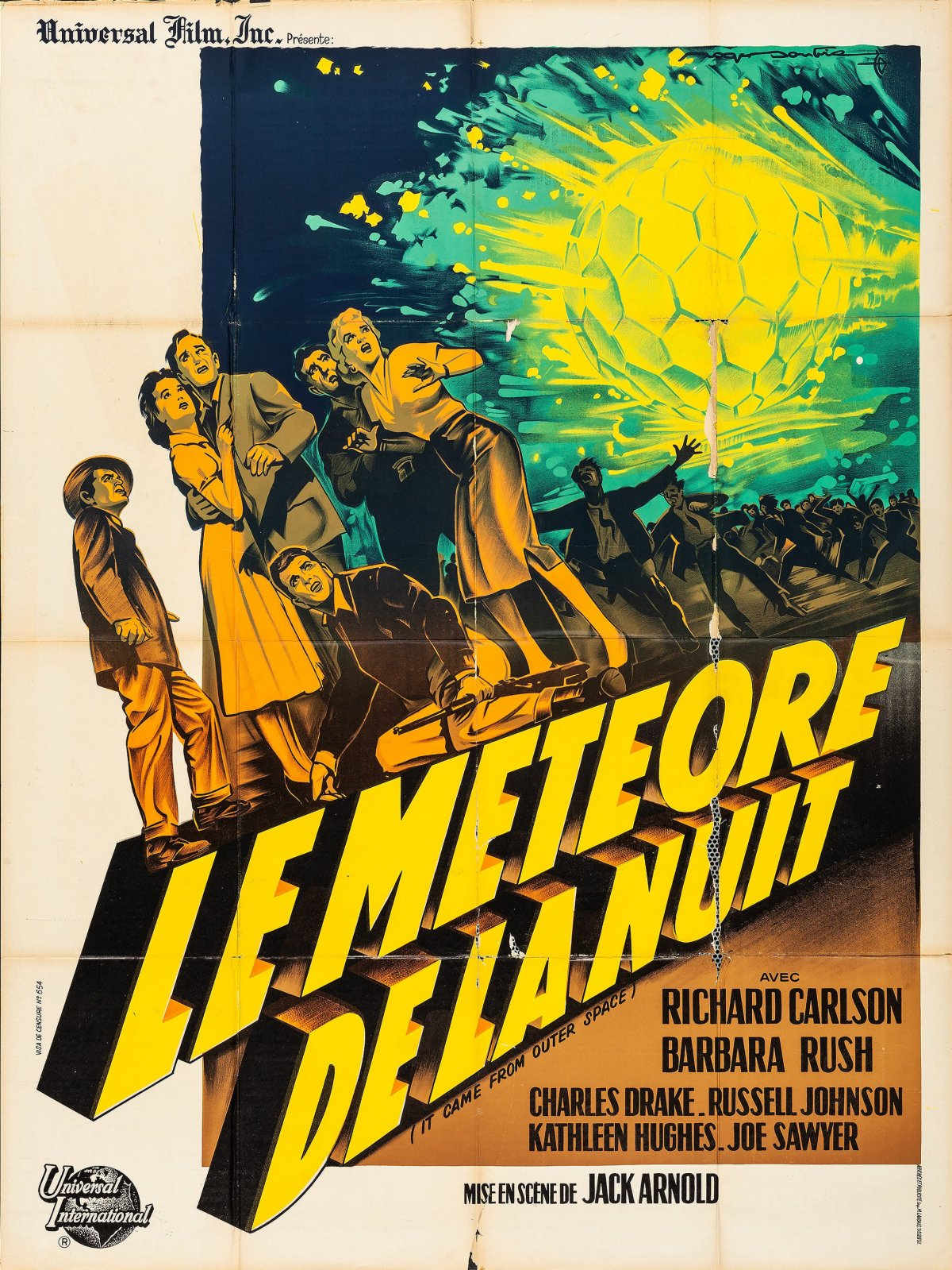 It Came from Outer Space French poster by Roger Soubie