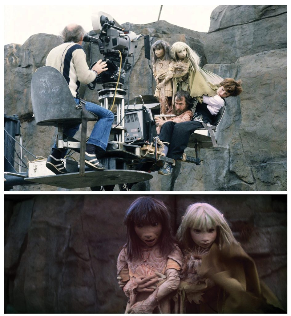 The Dark Crystal behind the scenes