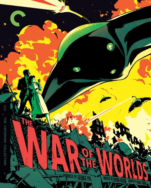 War of the Worlds Criterion cover by Patrick Leger