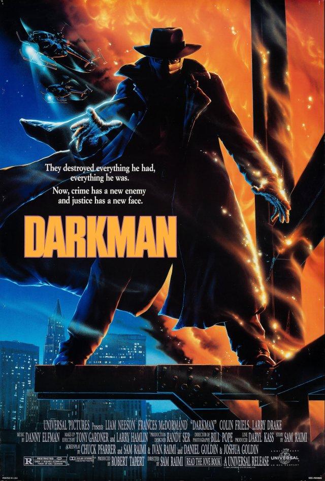 Darkman poster by John Alvin